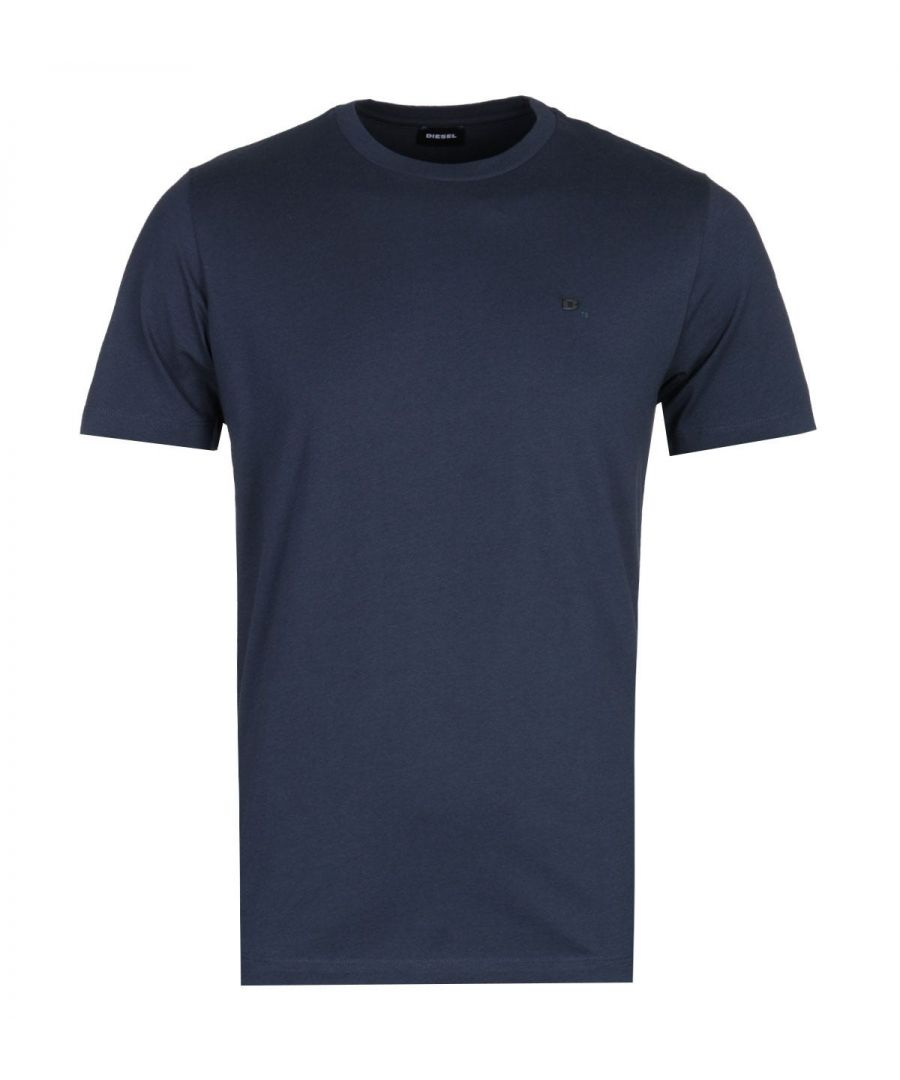 Image for Diesel T-Zosimos Navy Crew Neck Short Sleeve T-Shirt