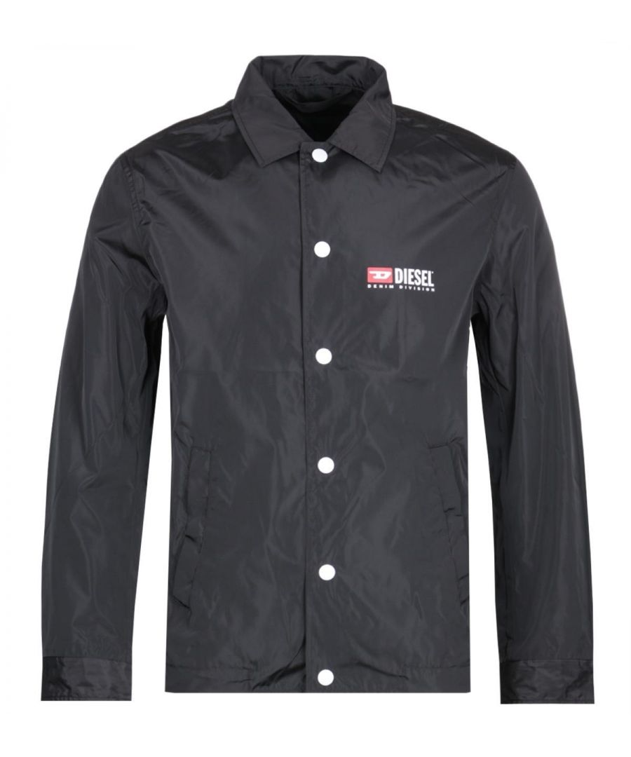 Image for Diesel Denim Division Black Coach Jacket