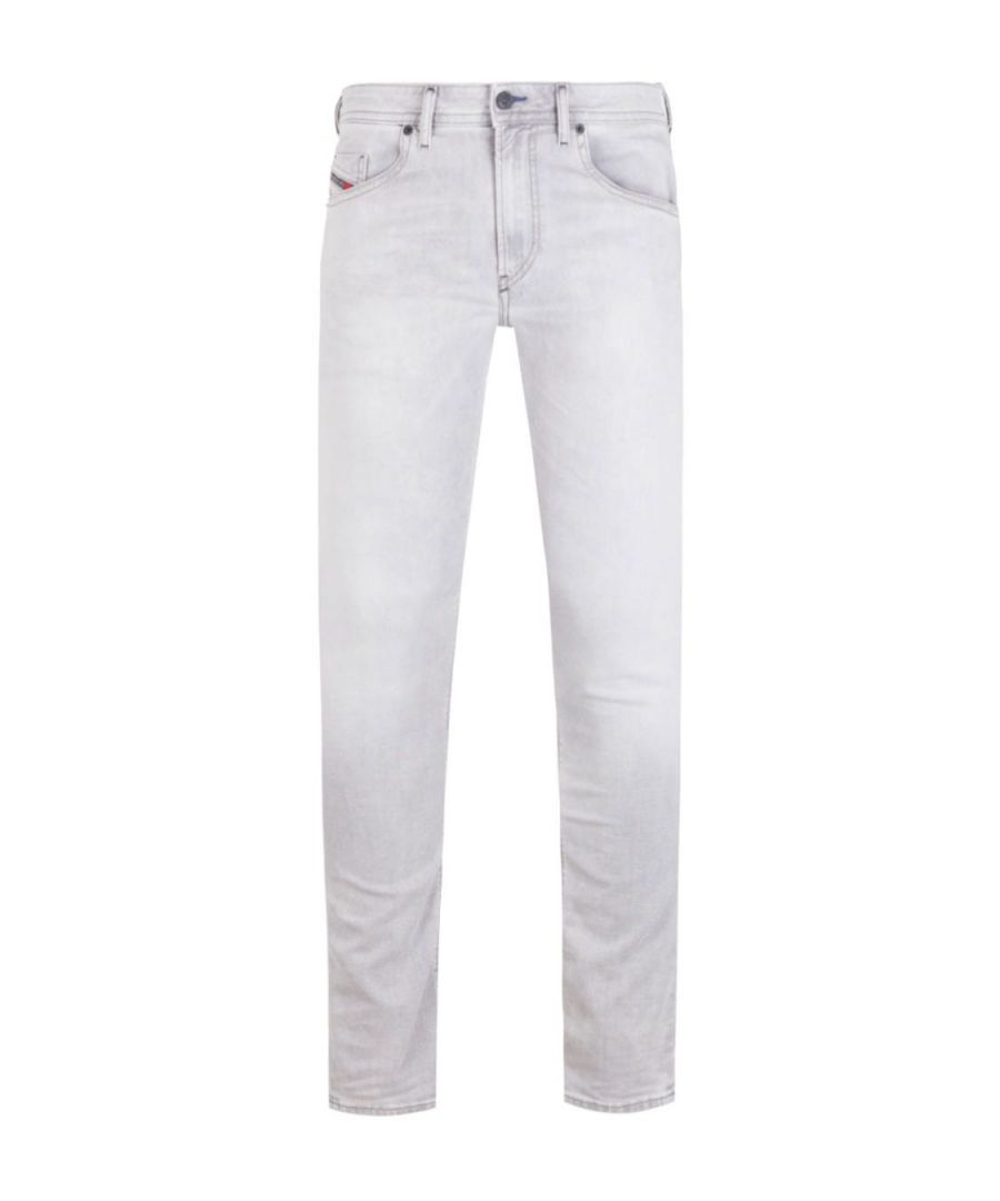 Image for Diesel Washed Grey Thommer Slim Fit Jeans