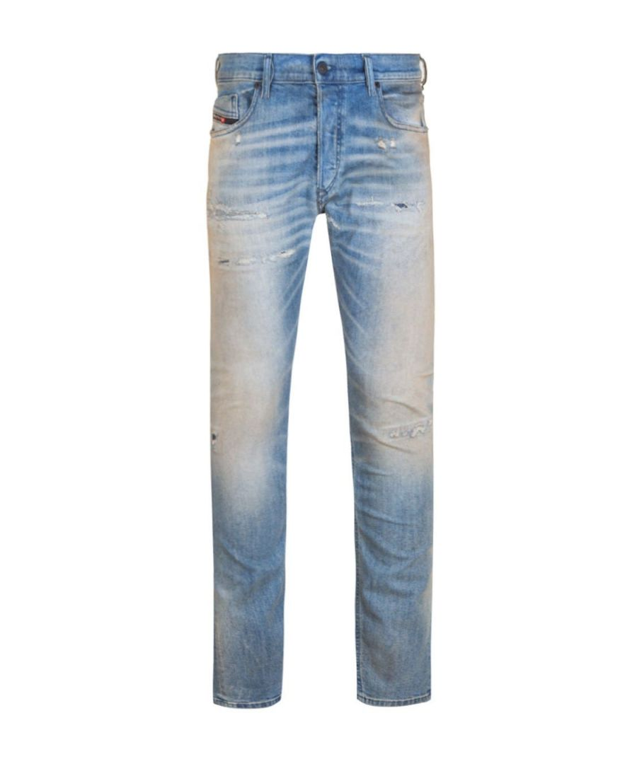 Image for Diesel Tepphar Pantaloni Medium Blue Slim Jeans