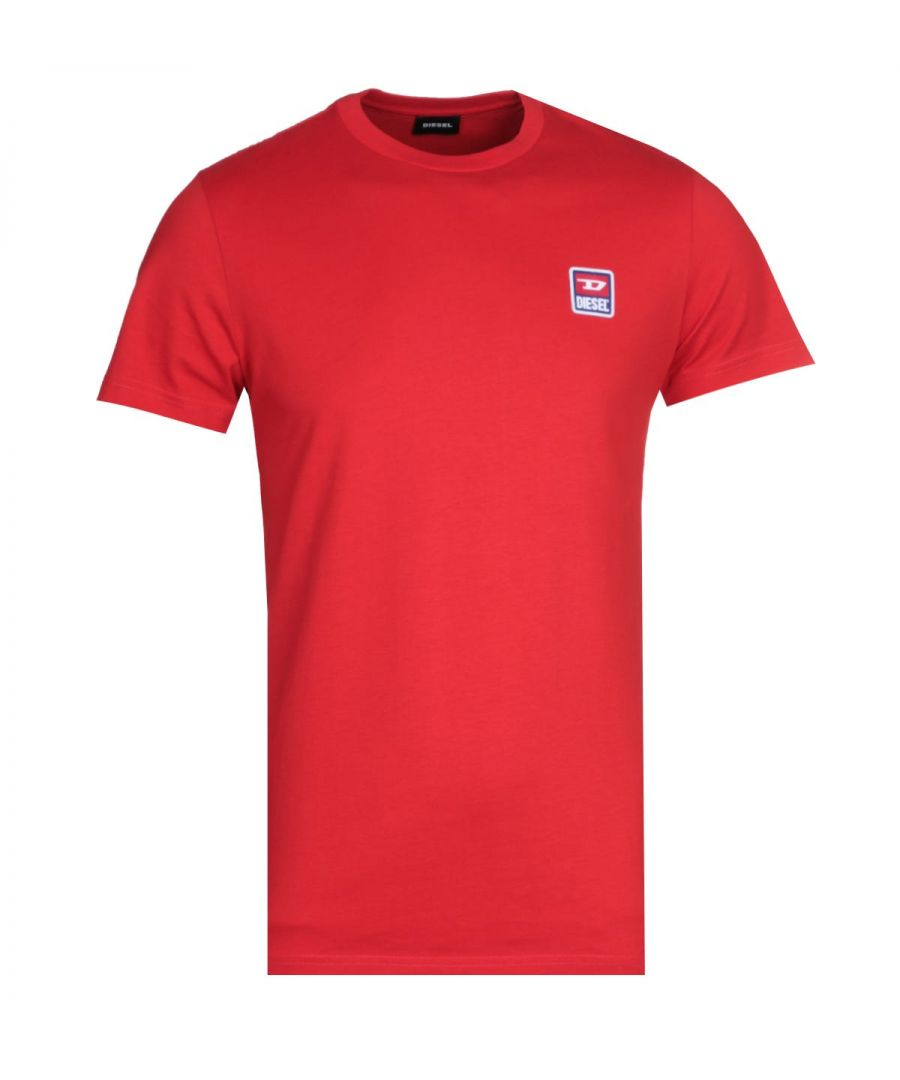 Image for Diesel Racing D Red Logo T-Shirt