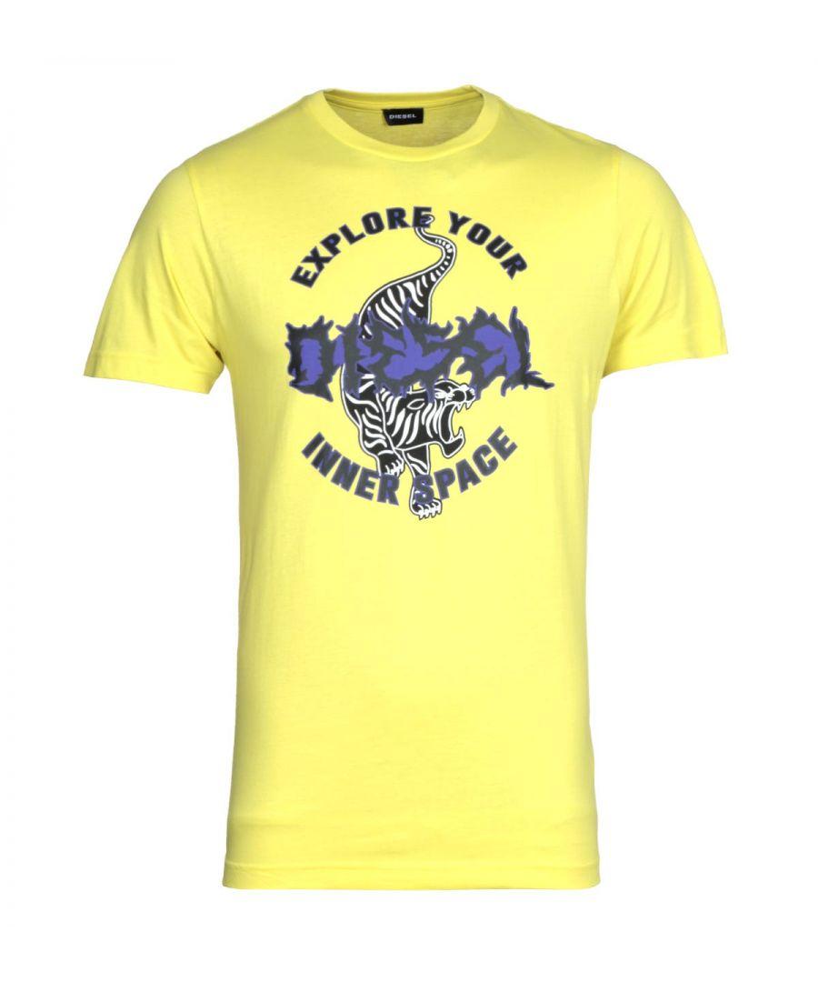 Image for Diesel T-Diego B15 Maglietta Yellow T-Shirt