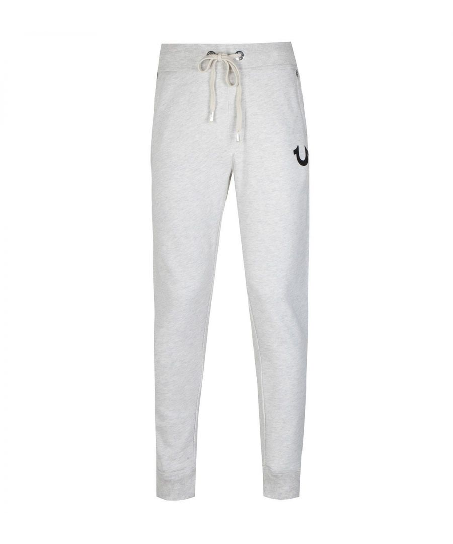 Image for True Religion Horseshoe Heather Grey Joggers
