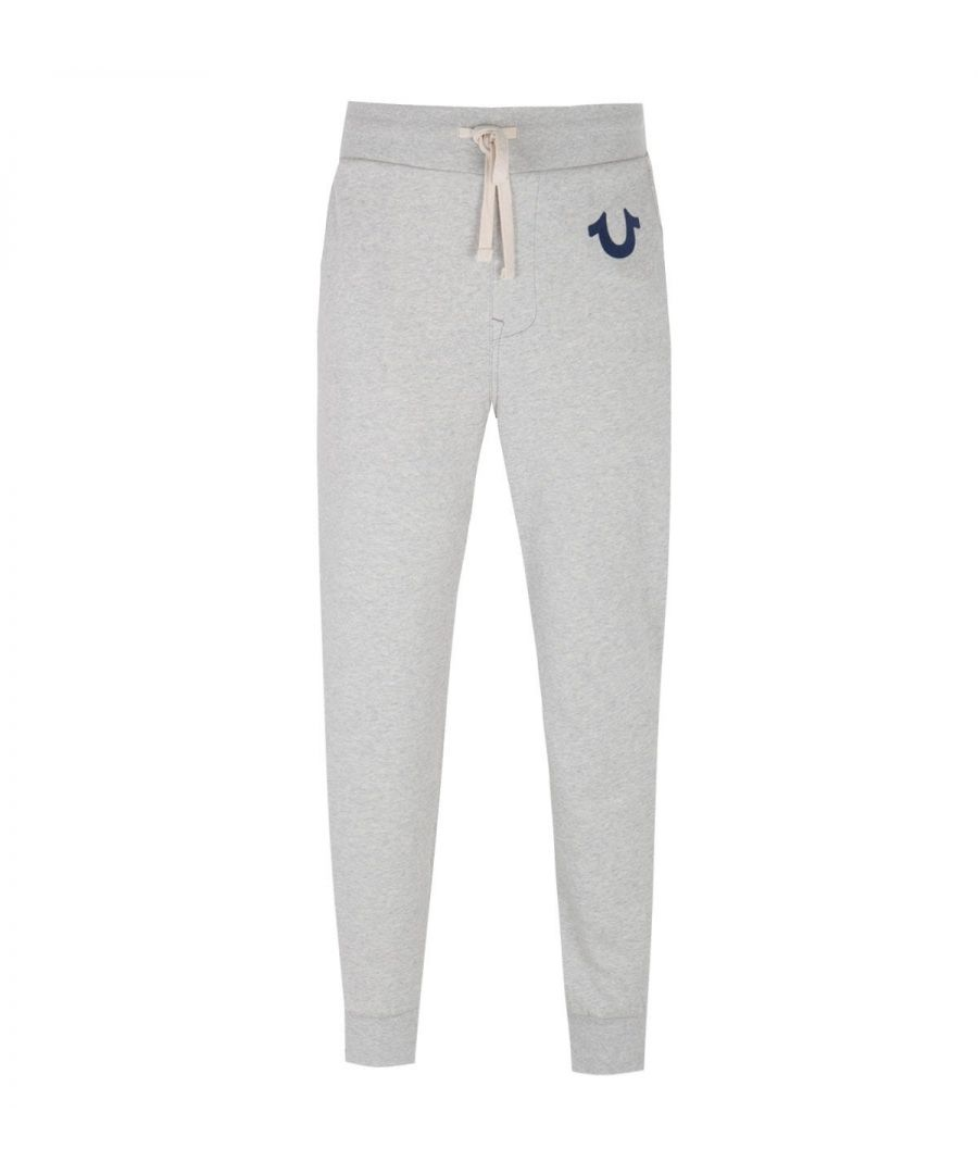Image for True Religion Classic Logo Light Oatmeal Sweatpants