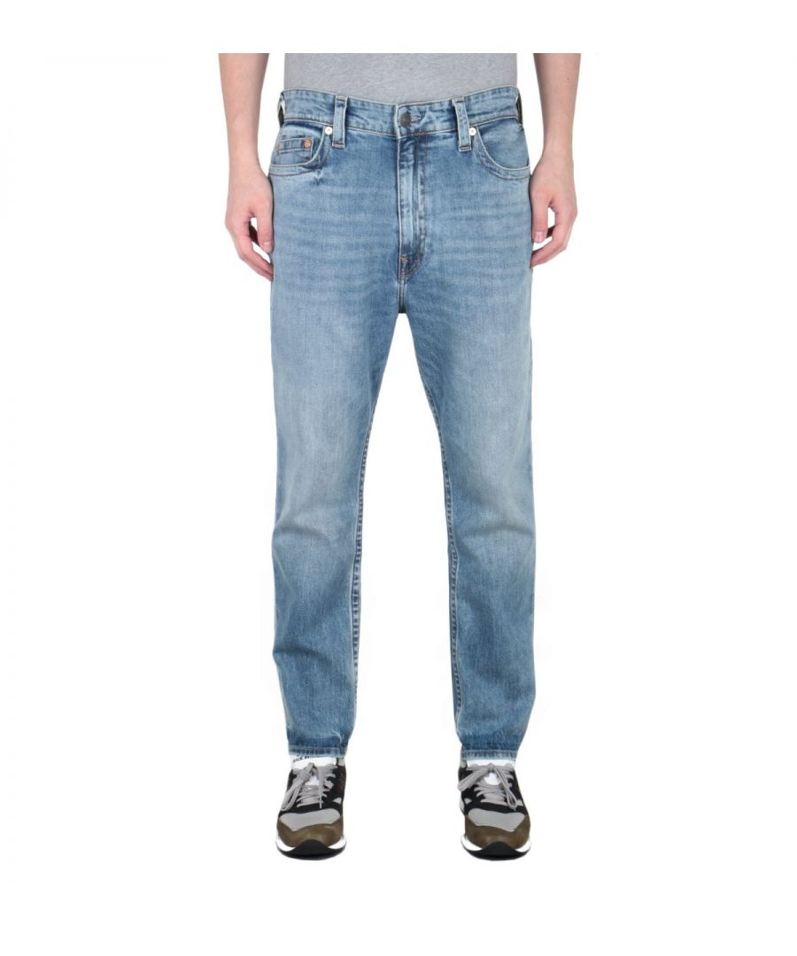 Image for True Religion Logan Tapered Fit Light Blue Jeans