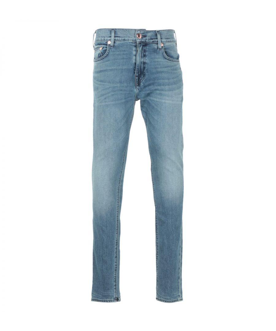 Image for True Religion Jack Super Skinny Jeans - Shadow Blue