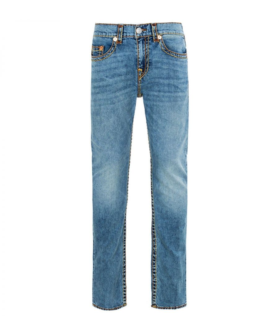 Image for True Religion Rocco Super T Relaxed Skinny Jeans - Chopper Blue