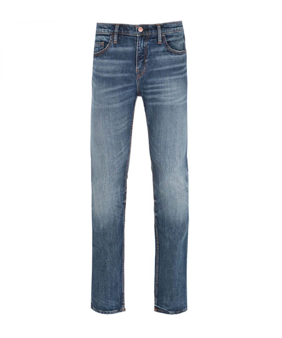 Image for True Religion Rocco Skinny Fit Blue Wash Denim Jeans