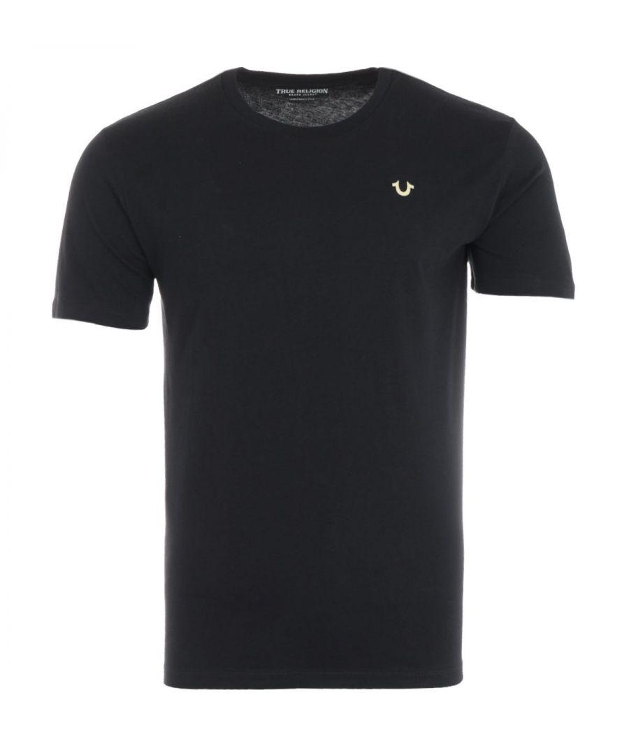 Image for True Religion 2002 Logo T-Shirt - Black