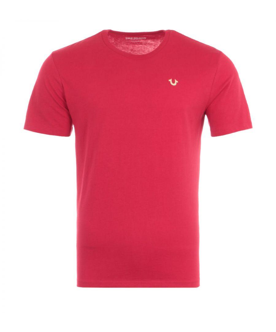 Image for True Religion 2002 Logo T-Shirt - Red