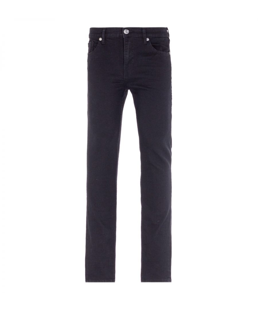 Image for True Religion New Skinny Black Jeans