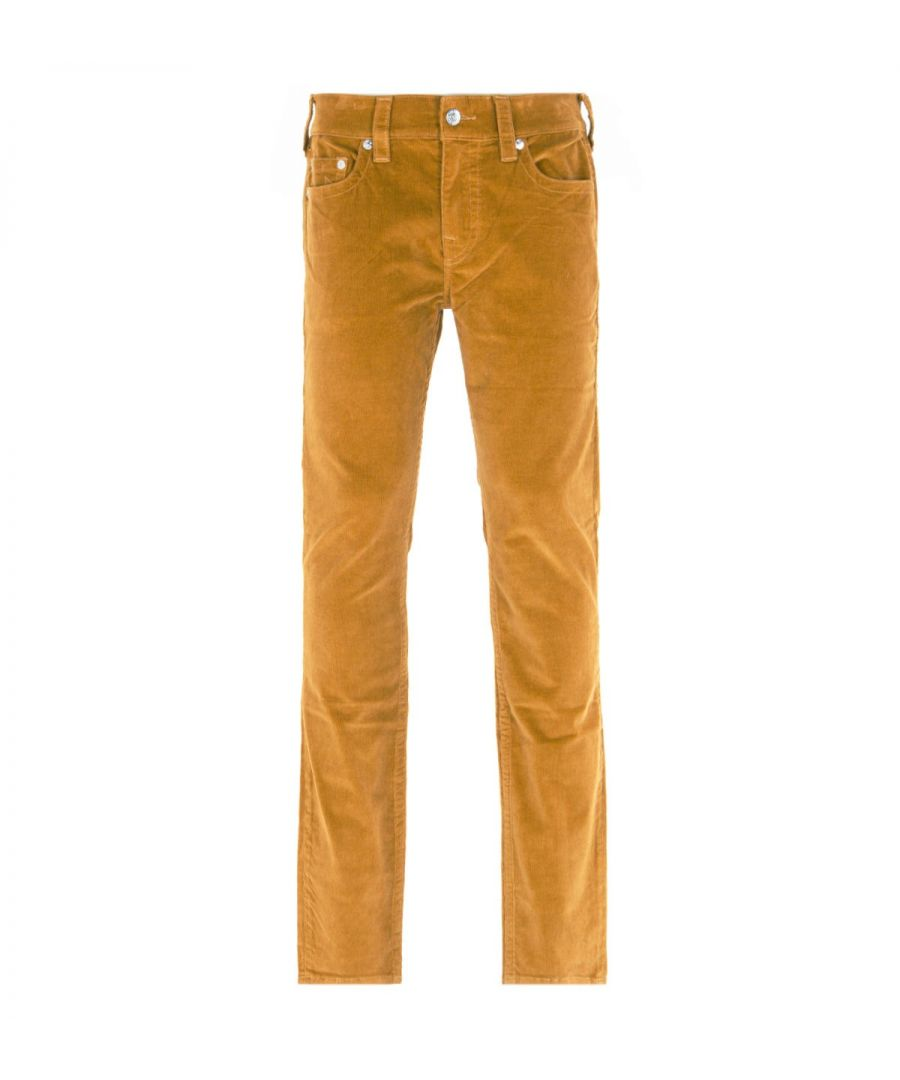 Image for True Religion Rocco Relaxed Skinny Desert Sand Corduroy Trousers