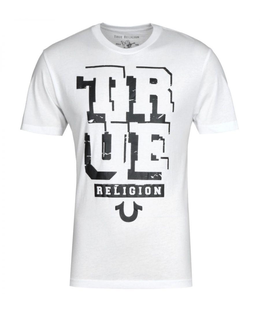 Image for True Religion Guided White T-Shirt