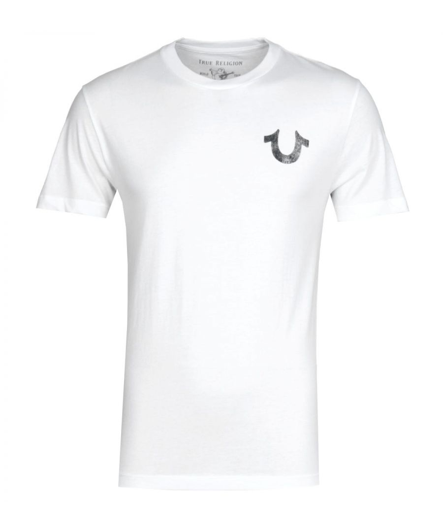 Image for True Religion Lullaby White T-Shirt