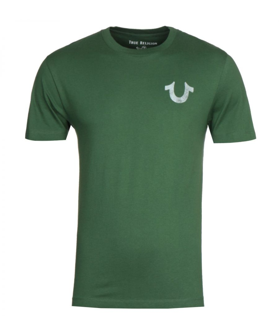 Image for True Religion Lullaby Green T-Shirt