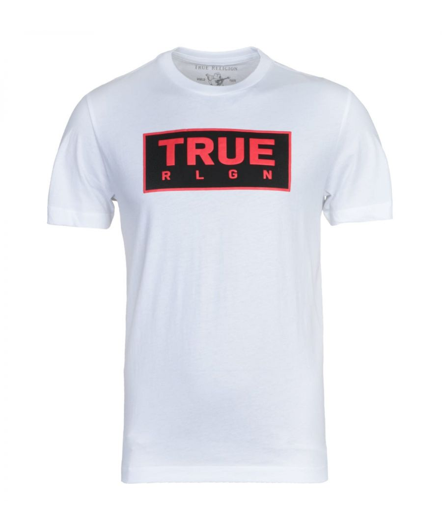 Image for True Religion Heavyweight White T-Shirt