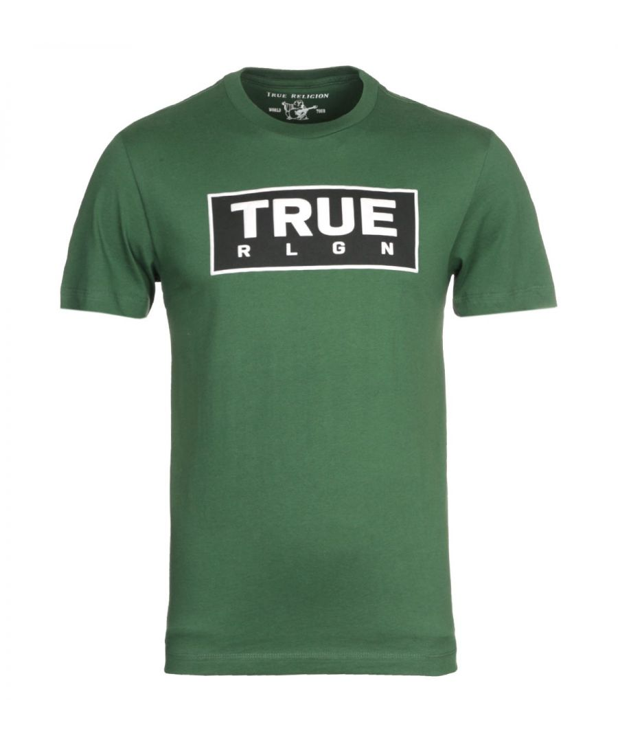 Image for True Religion Heavyweight Green T-Shirt