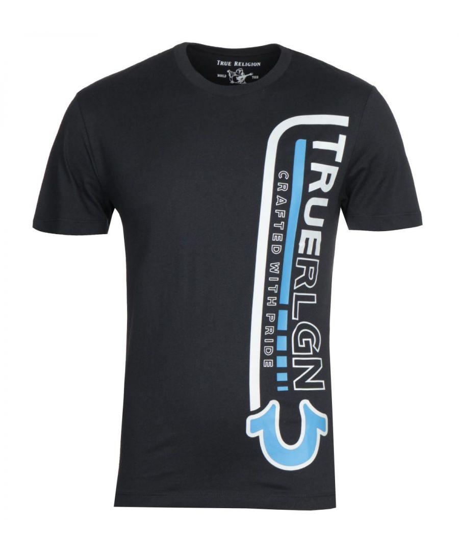 Image for True Religion Tribute Black T-Shirt