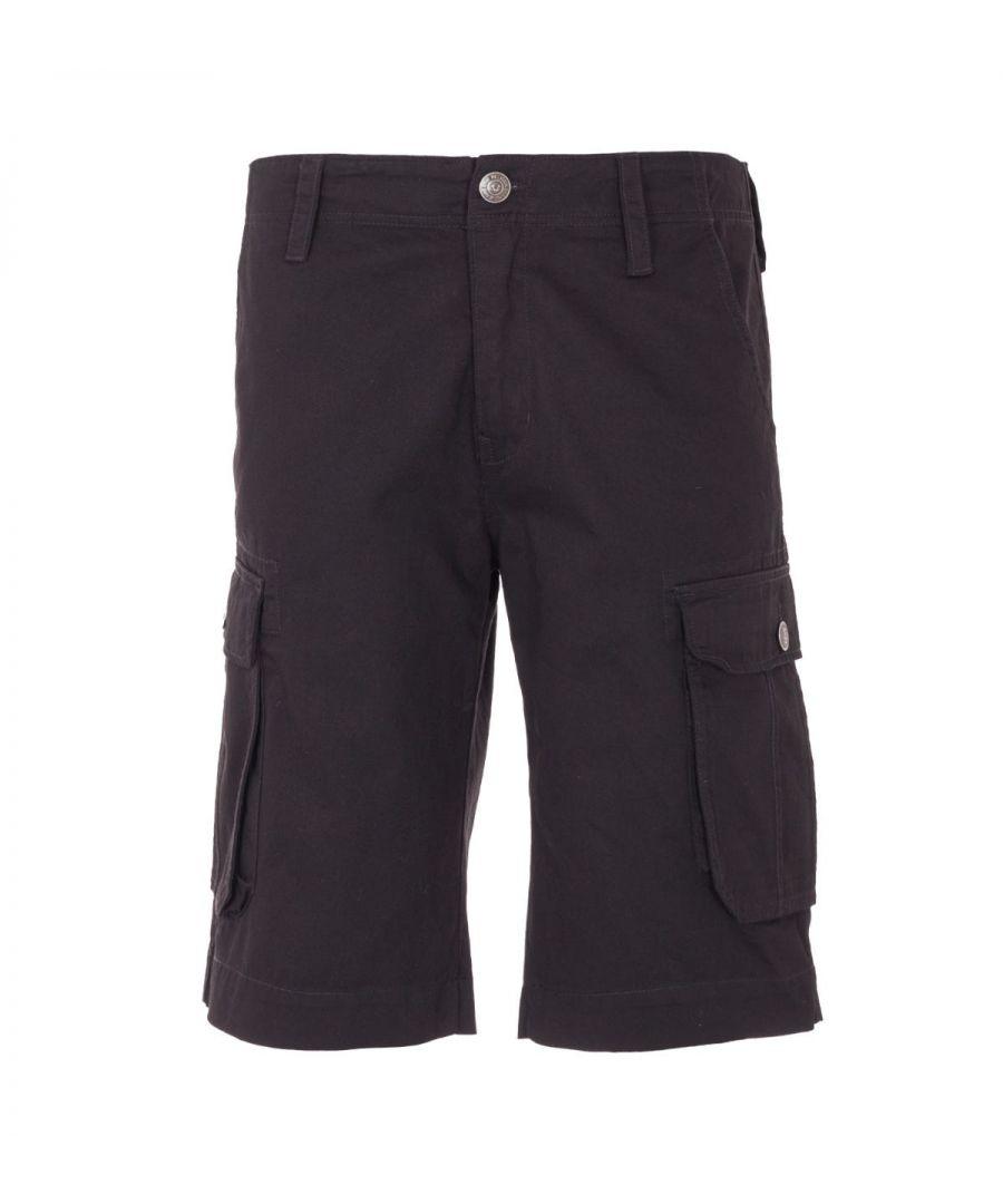 Image for True Religion Cargo Shorts - Black