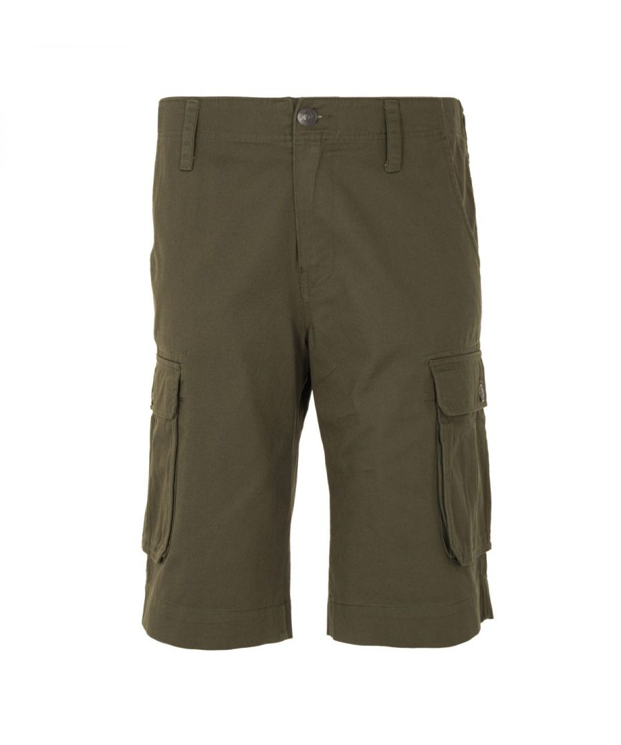 Image for True Religion Cargo Shorts - Military Green