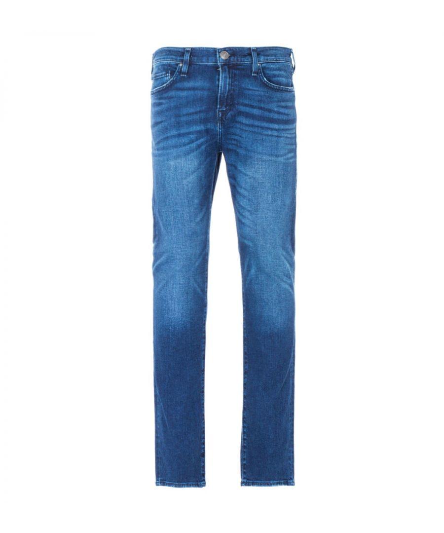 Image for True Religion Rocco Skinny Jeans - Urban Cowboy Blue