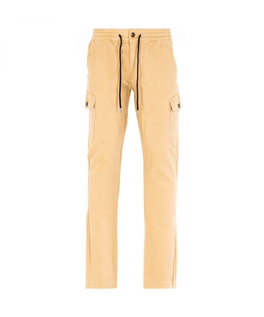 Image for True Religion Straw Beige Cargo Pants