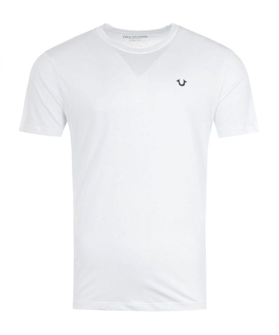 Image for True Religion 2002 Crew Neck T-Shirt - White