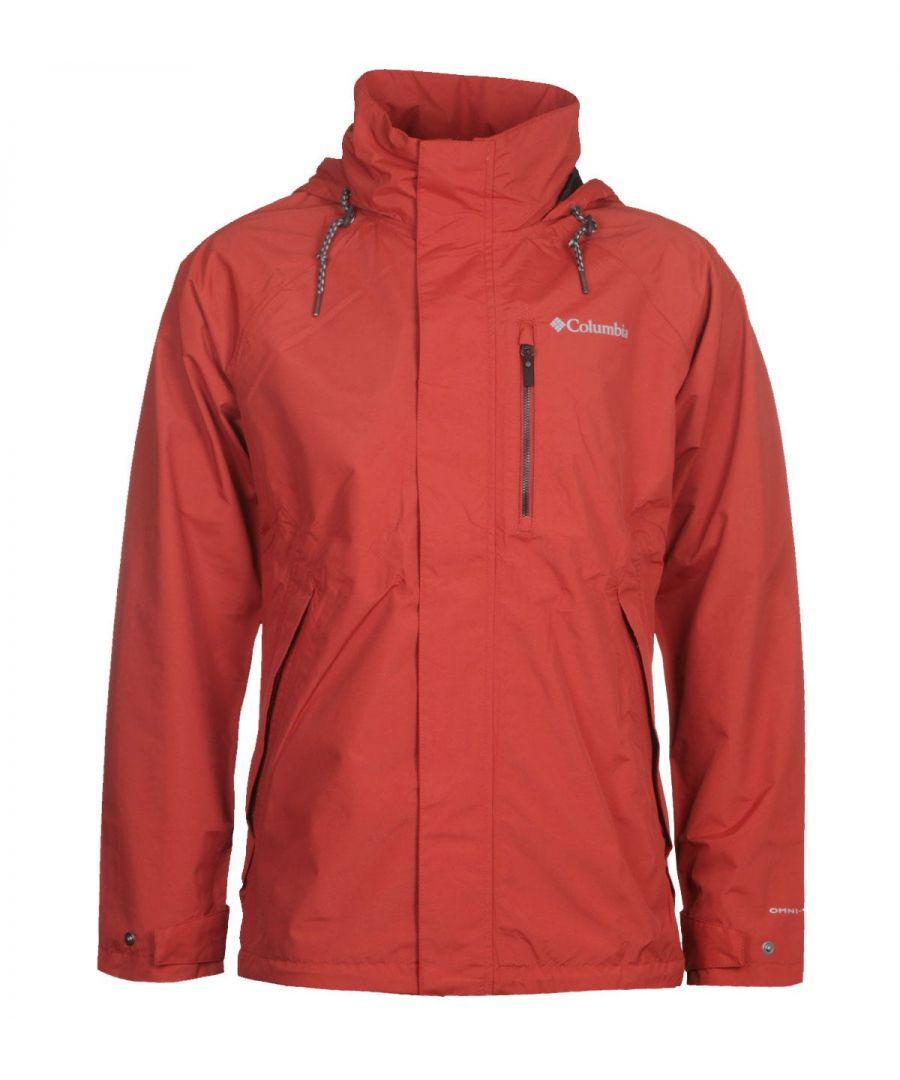 Image for Columbia Red Good Ways II Waterproof Jacket