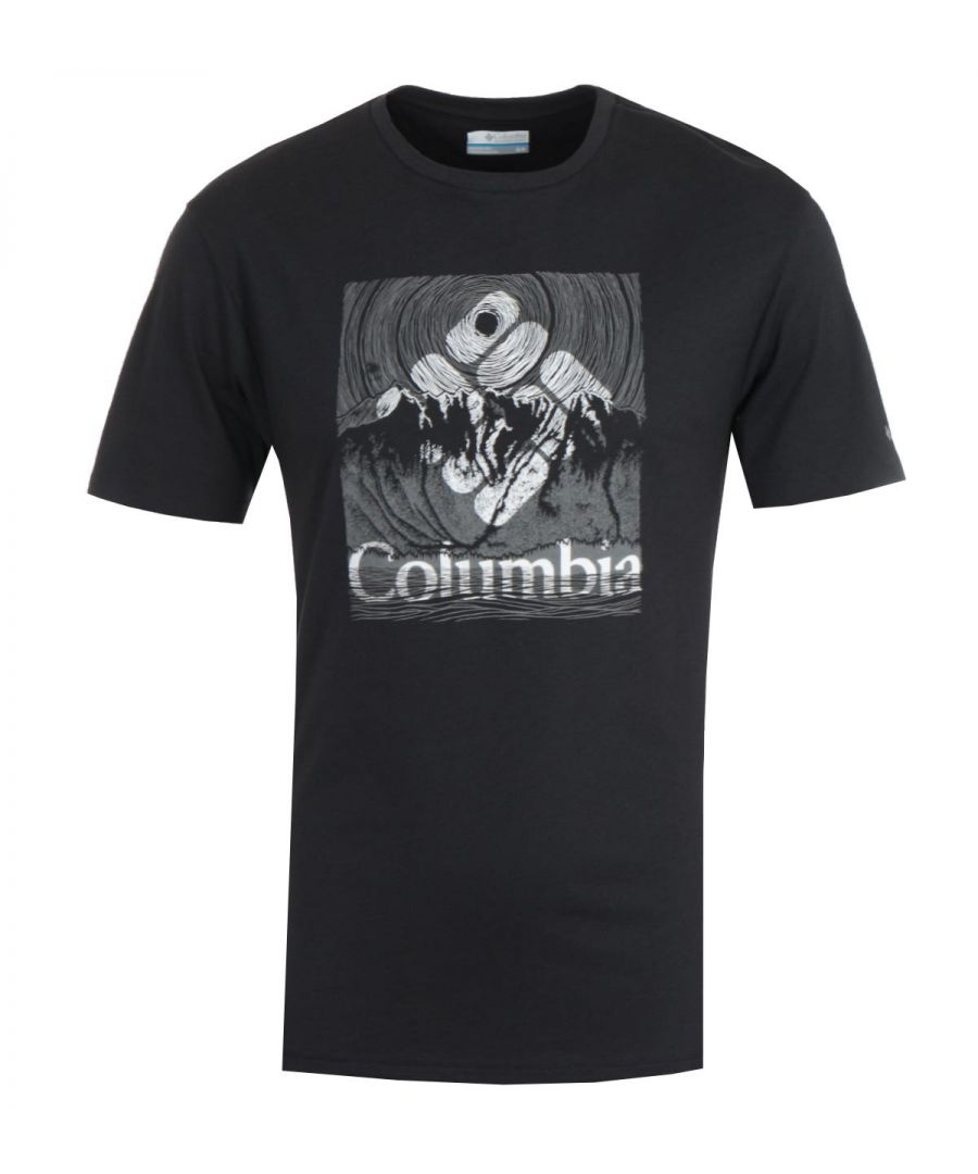Image for Columbia Basin Butte T-Shirt - Black
