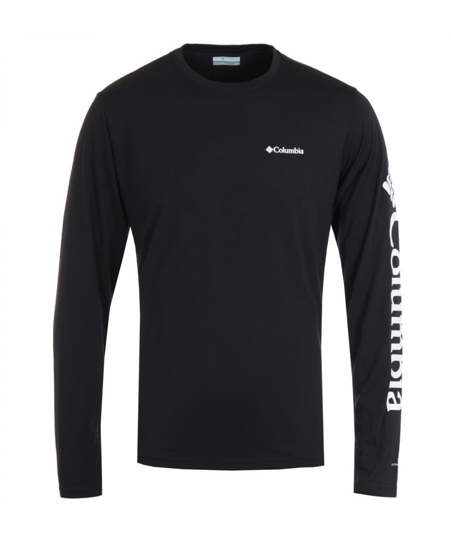 Image for Columbia Miller Valley Long Sleeve T-Shirt - Black