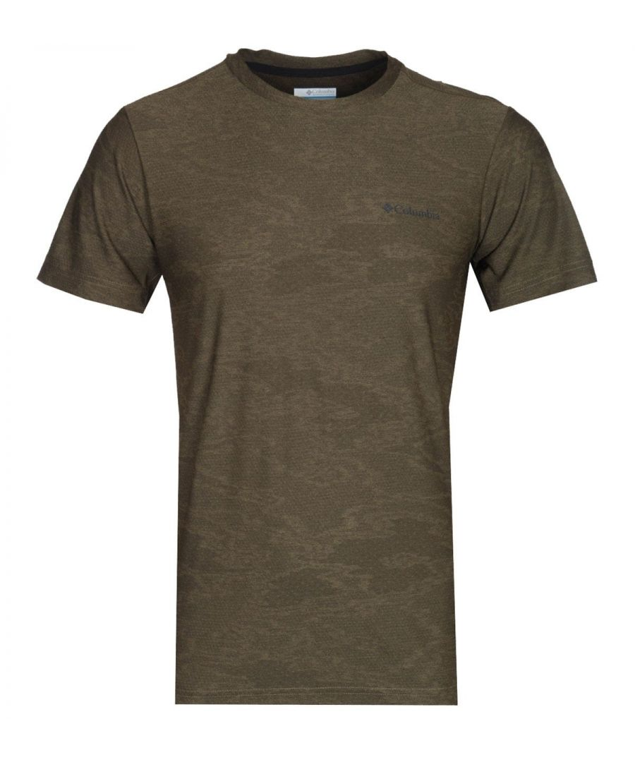 Image for Columbia Maxtrail Sage Green Camo T-Shirt