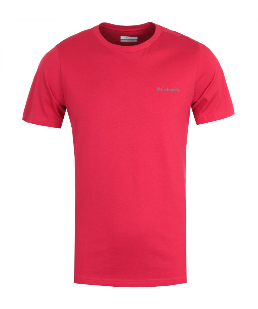 Image for Columbia Rapid Ridge Back Graphic T-Shirt - Red