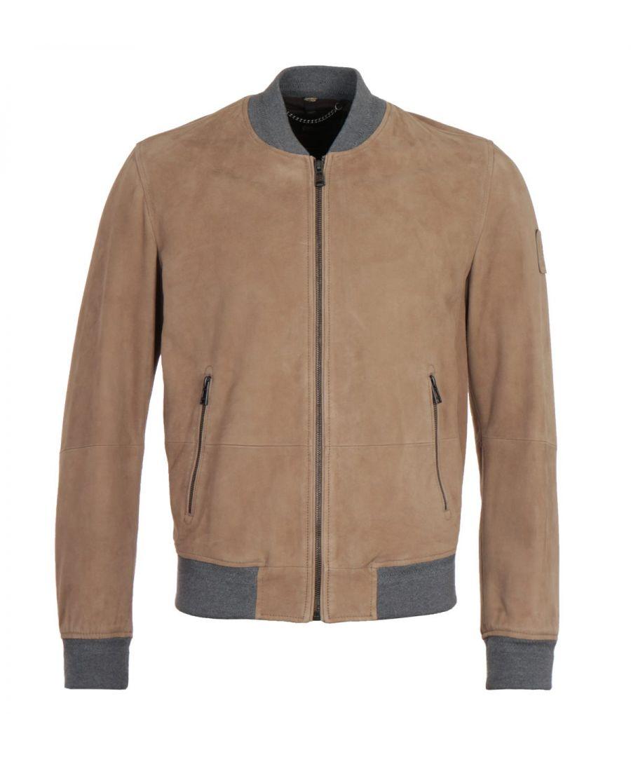 Image for Belstaff Fallow Suede Harbour Jacket