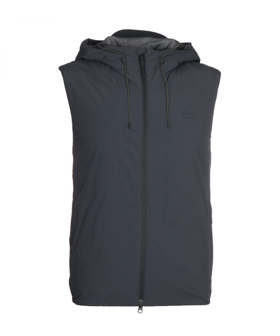 Image for Lacoste Dark Grey Hooded Gilet
