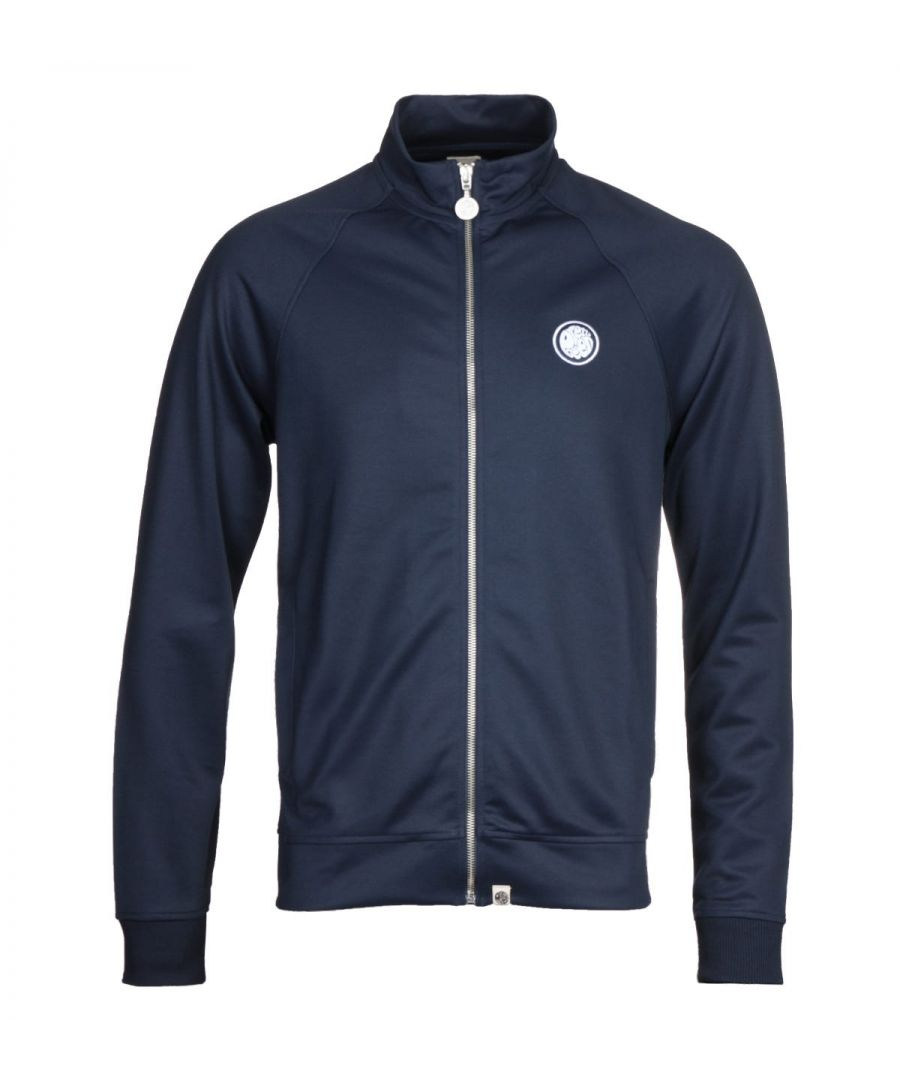 Image for Pretty Green Zip Up Navy Track Jacket