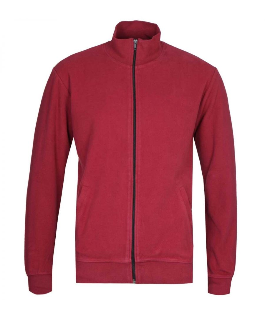 Image for Edwin Trey Ruby Wine Red Funnel Neck Jacket
