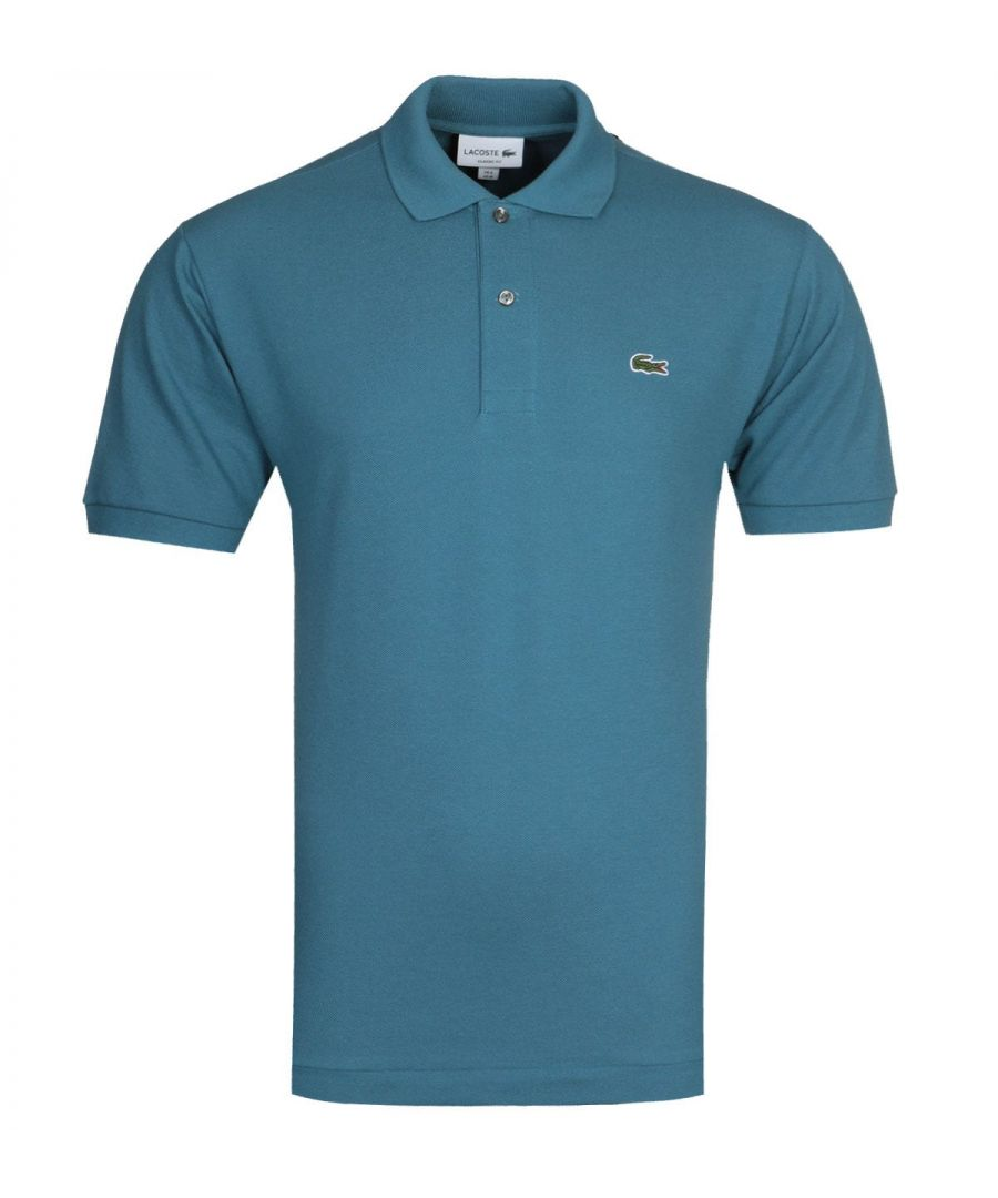 Image for Lacoste L1212 MC Homme Blue Polo Shirt