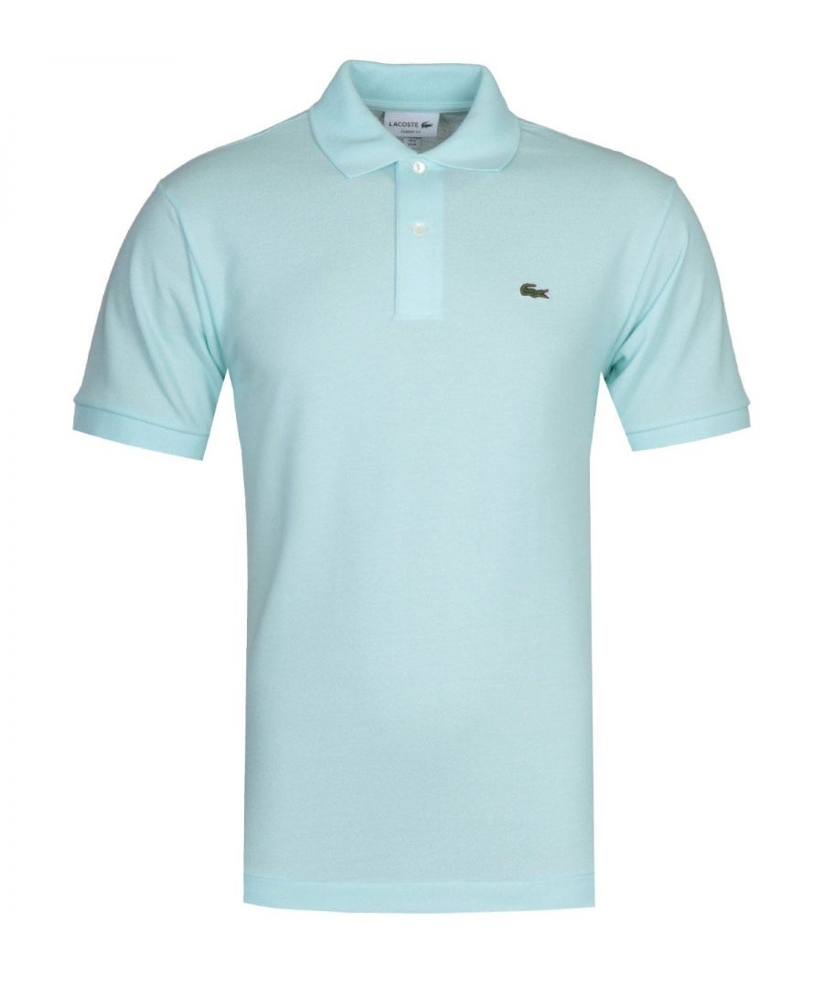 Image for Lacoste L1212 MC Homme Light Blue Polo Shirt