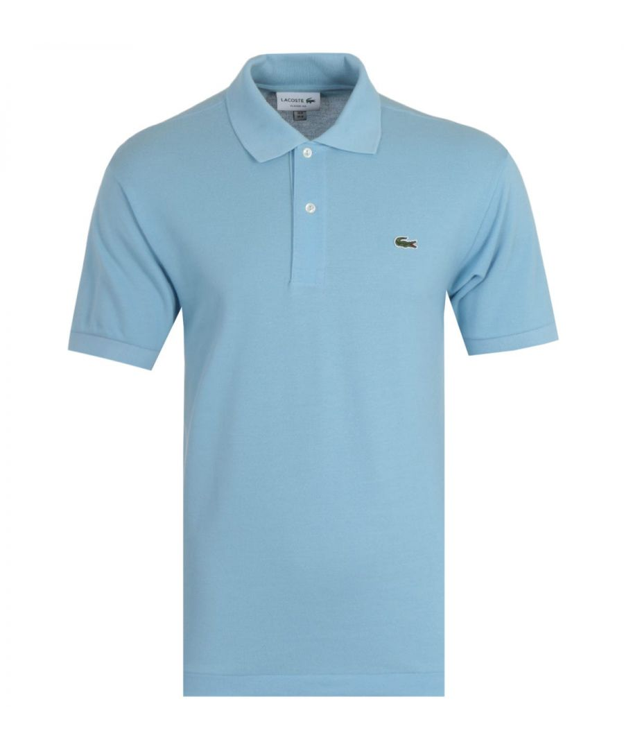 Image for Lacoste Classic Fit Sky Blue Polo Shirt