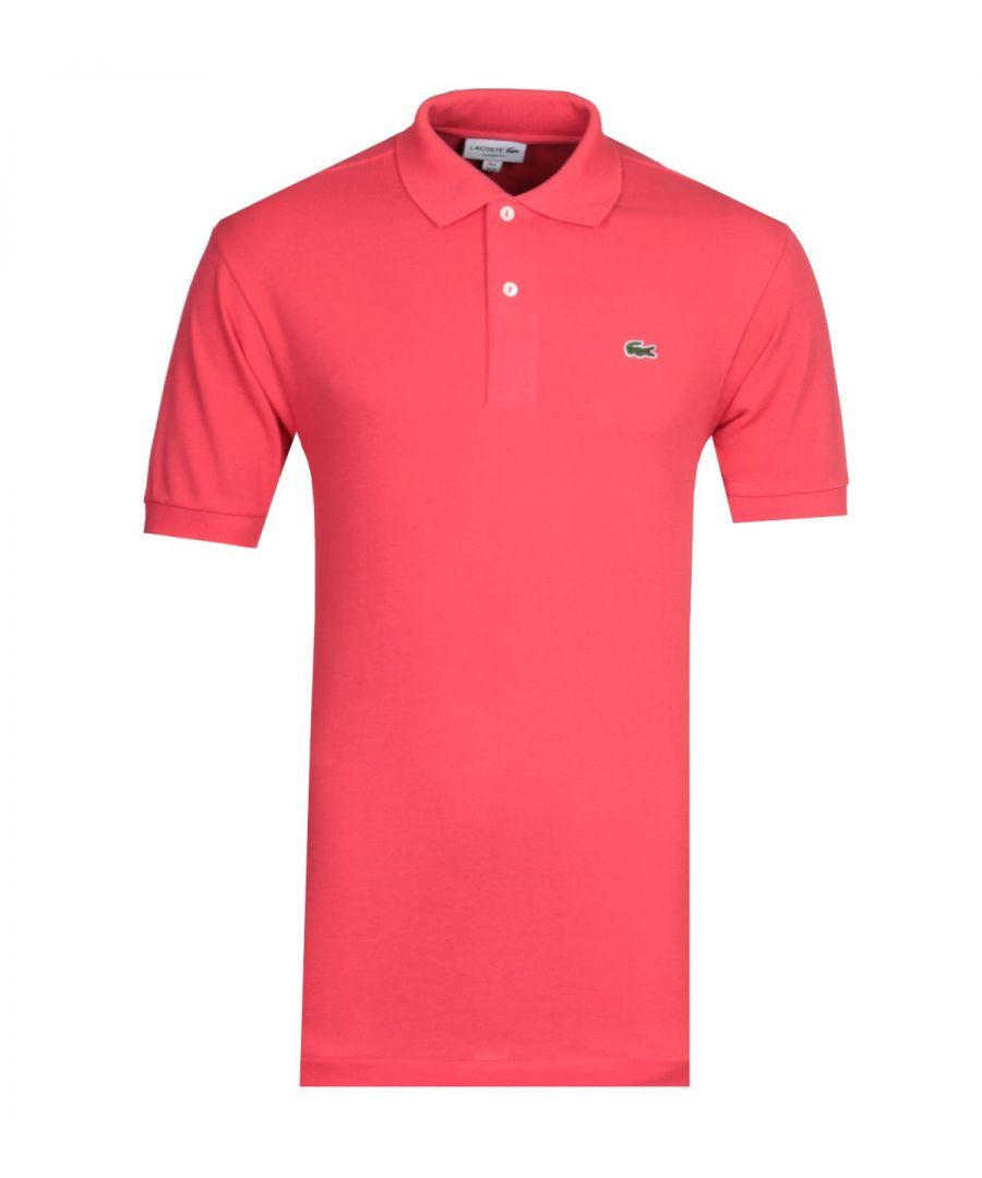 Image for Lacoste Red MC Homme Polo Shirt