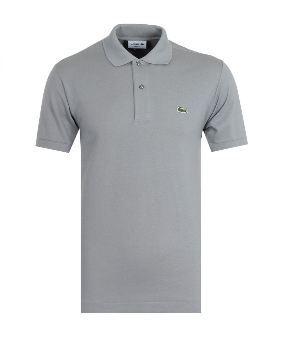 Image for Lacoste Classic Fit Grey Polo Shirt