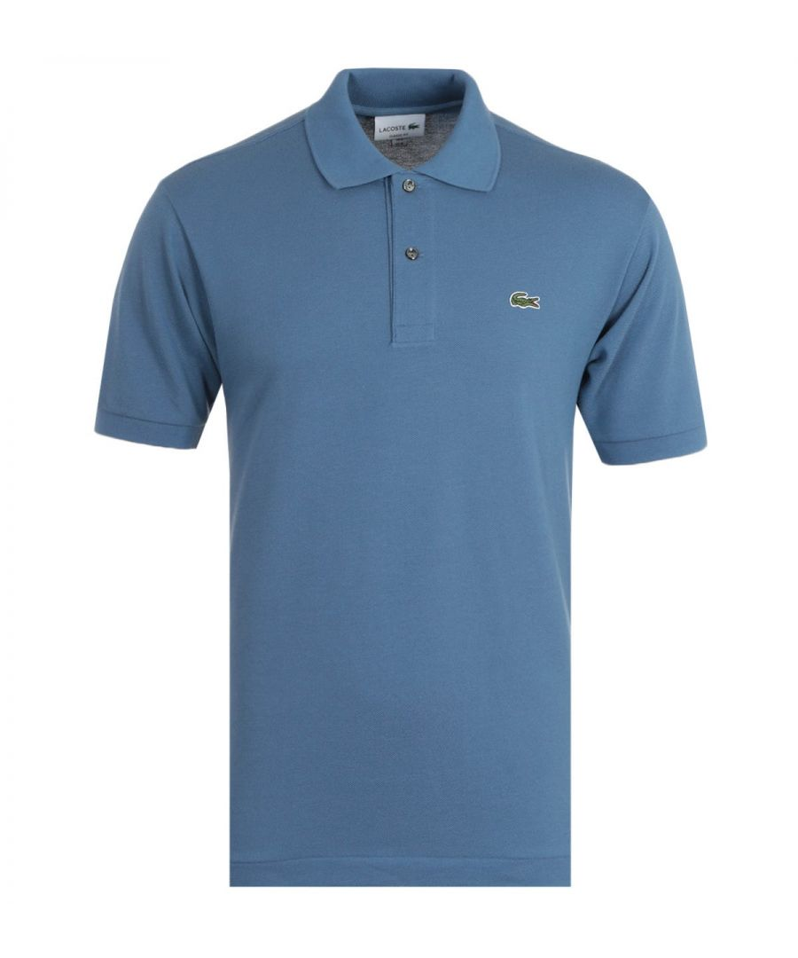 Image for Lacoste Classic Fit Blue Polo Shirt