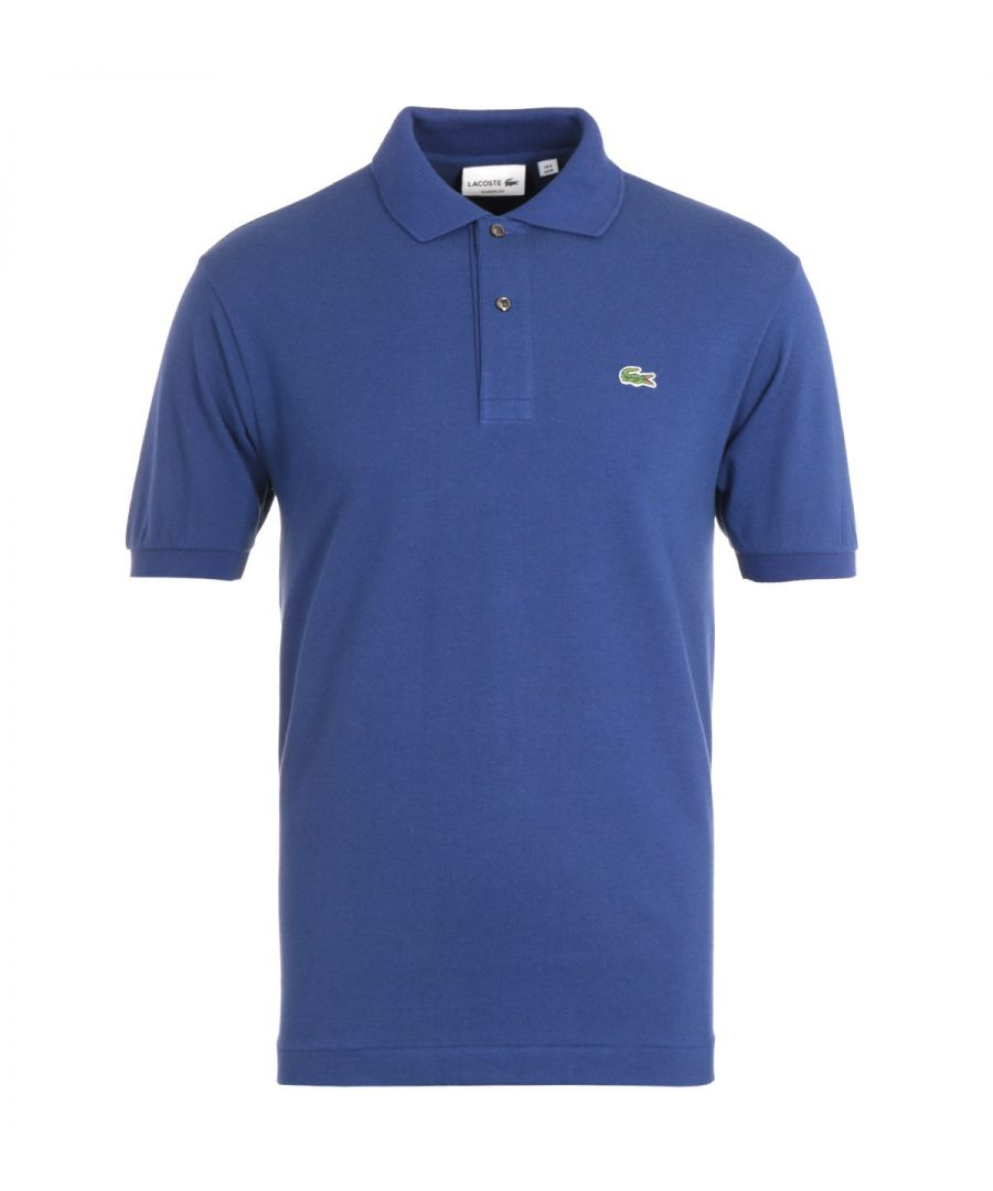 Image for Lacoste Classic Fit Cobalt Blue Polo Shirt
