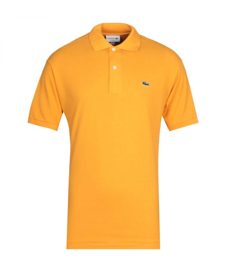 Image for Lacoste Orange MC Homme Polo Shirt