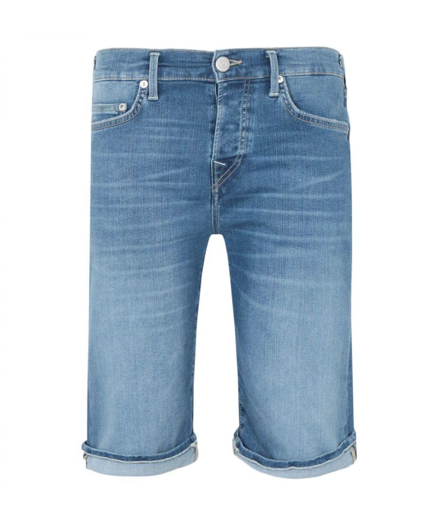 Image for True Religion Rocco Denim Shorts - Blue Trueflex