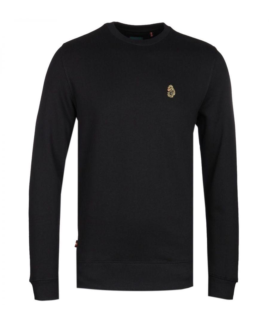 Image for Luke 1977 The Runner Black Crew Neck Sweatshirt