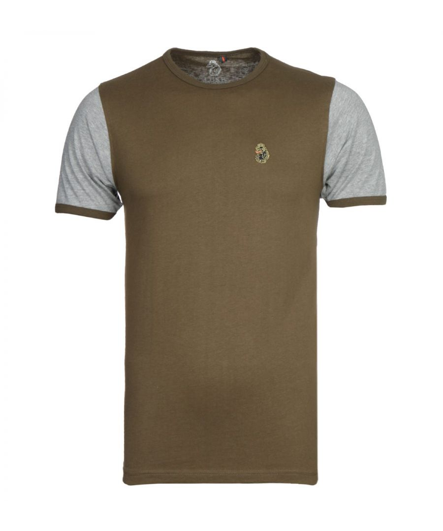 Image for Luke 1977 Khaki Ringer T-Shirt