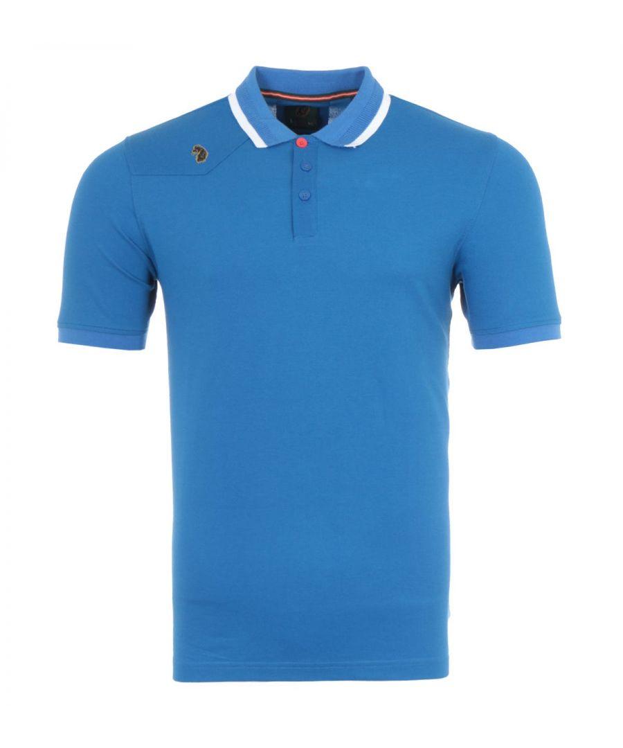 Image for Luke 1977 Newtown Polo Shirt - Marine Blue