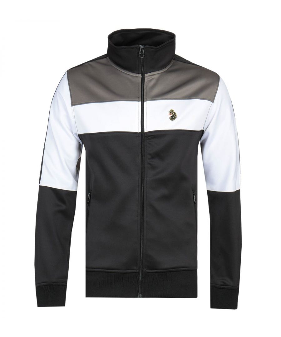 Image for Luke 1977 Odin Full Zip Trico Luxury Black Track Jacket