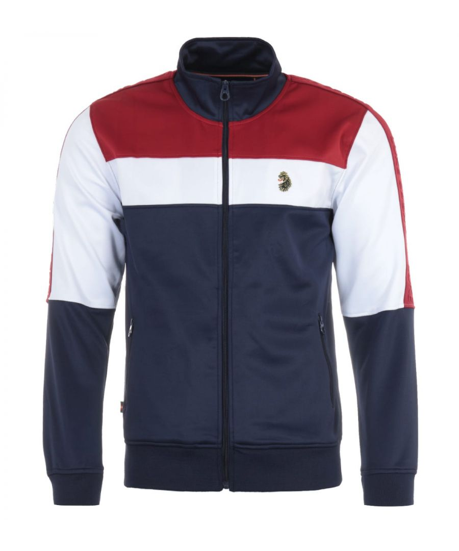 Image for Luke 1977 Odin Full Zip Trico Luxury Track Jacket - Red